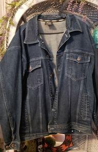 Xl denim button up denim jacket